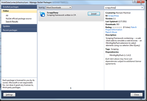 Image of nuget